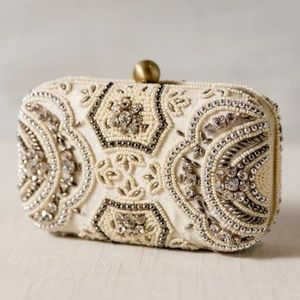 From St. Xavier Zoey Beaded Clutch NWT